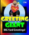 Greeting Giant Yard and Lawn Big Greeting Cards